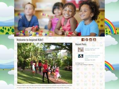 Website for Kid school