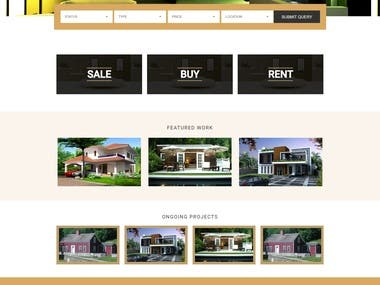 real estate website in Wordpress
