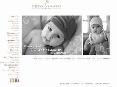 Wordpress Site (WP E COMMERCE)