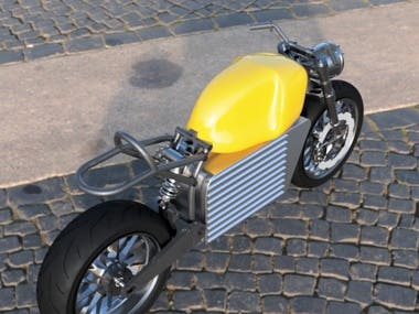 Electric Motorcycle Design for fabrication