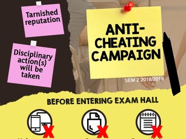 Anti-Cheating Campaign