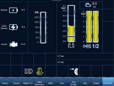 HMI - Railway systems
