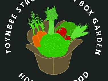 TOYNBEE STREET LUNCH BOX GARDEN LOGO AND FLYERS