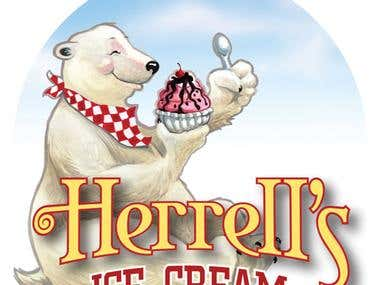 Herrell's Ice Cream Bear