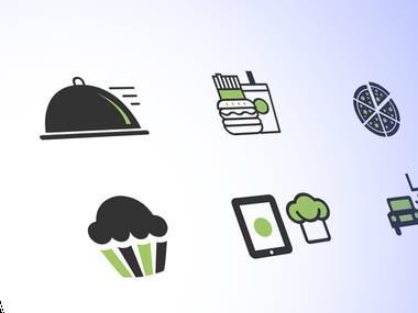 Icons for Restaurant