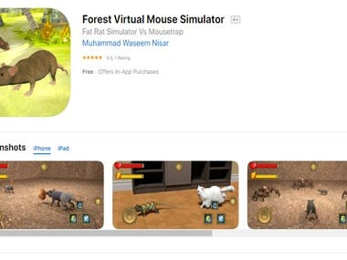 Forest Virtual Mouse Simulator