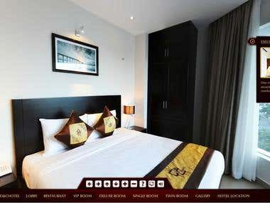 Website & Panorama Virtual Tour D&C Hotel