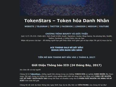 [ENG-VIE] TokenStar Annoucement Translation
