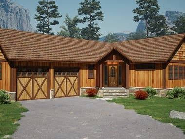 3d House visualization