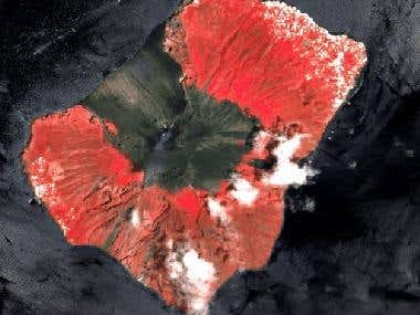 Temporal analysis of satellite images
