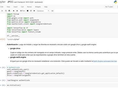 Python codes example