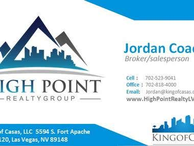 Sample Flyers & sample business cards