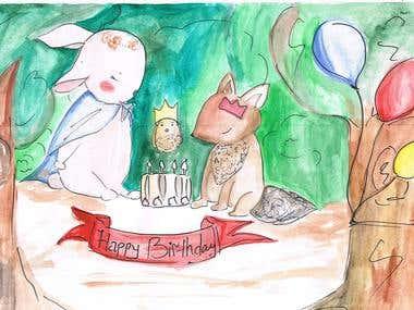 Children book' s illustration