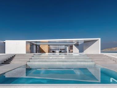 White Minimalist Villa