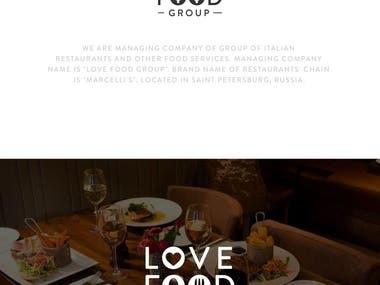Love Food Group Logo