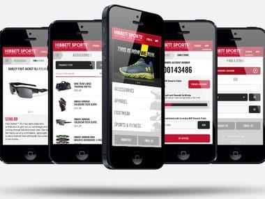 Mobile App & Game Service
