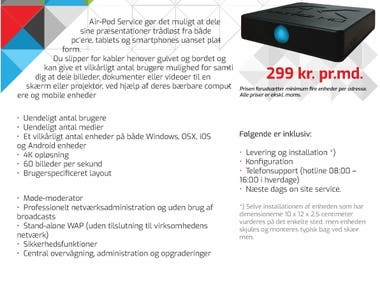 Informationsteknik Product Flyer