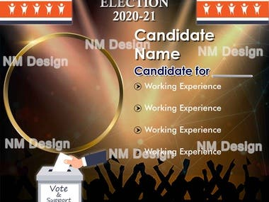 Election Campaign - Candidate Profile/Working