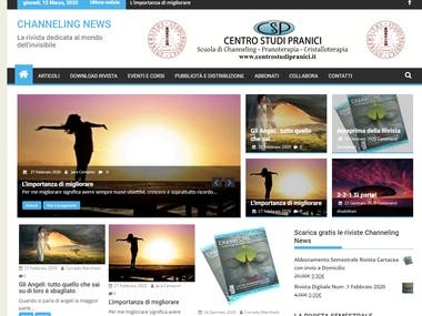 Magazine Online - Channeling News