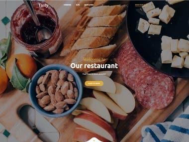 Restaurant WebApp (Python/Django)
