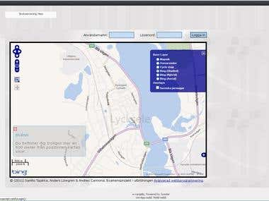 Gis web aplication