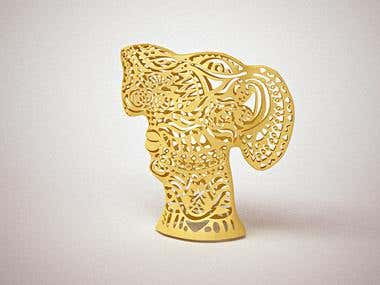Sculpture design for 3d printing
