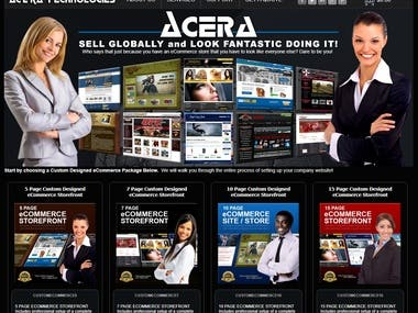 Acera Commerial Tech (PHP)