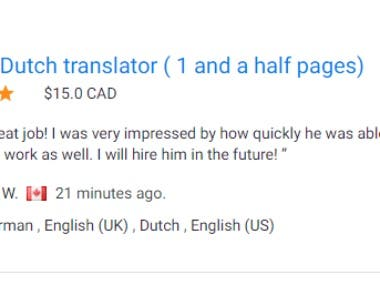 Translation German to Dutch