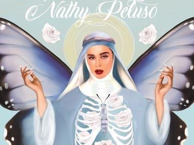 VINYL COVER LP1200 - NATHY PELUSO; LA SANDUNGUERA