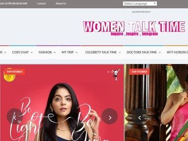 women talk time