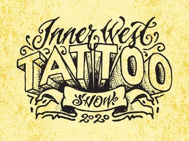 Lettering Logo for Tattoo Show