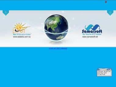 Web Desigining for samarsoft.net