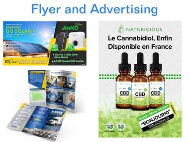 Brochure, Advertising, Flyer