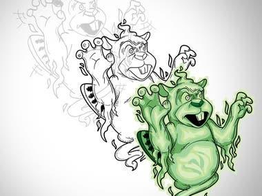 Beaver Illustrations