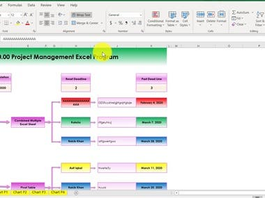 Project management (VBA, Macro, Advance Excel)