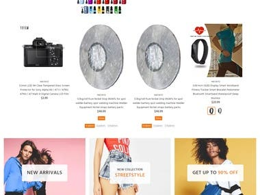Dropshipping Store based on Shopify