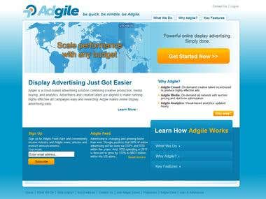 Adgile Website Design & Development