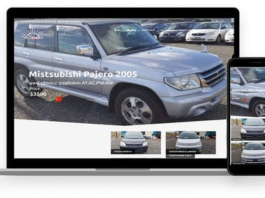 Rising Group - Vehicle Online Store