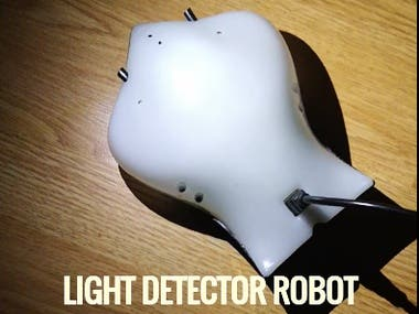 Light Detector Robot