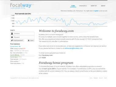 focalway.com crypto-currency mining pool