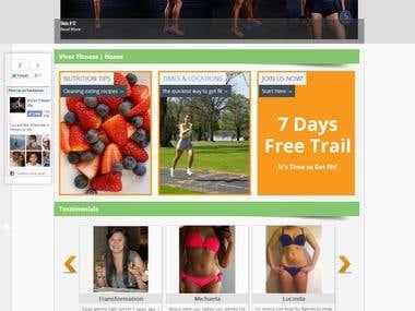 Viver Wordpress Website
