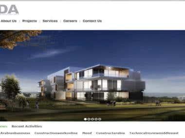 EDA, Lebanon PHP Website