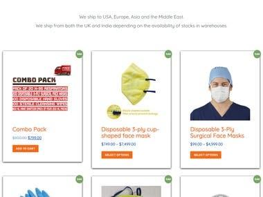 Online Store Using WordPress first-aidstore Csehabiburr183
