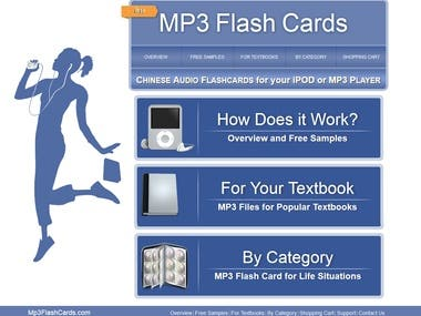Mp3 Flash Cards