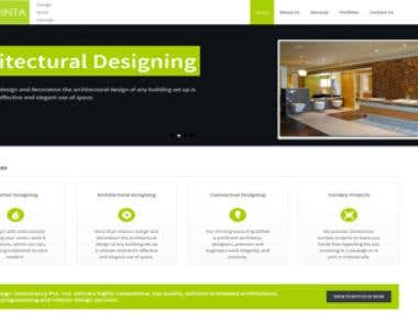 Quinta Design Wordpress Website