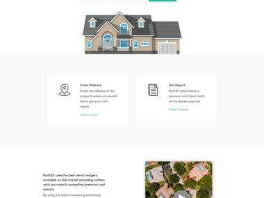 Premium Roof reporting web applicati