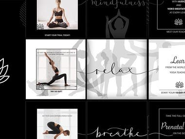 Online Yoga Studio increased conversions by 12.9%