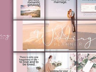 International Wedding Planner increased followers by 1011%