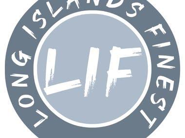 LONG ISLANDS FINEST logo design