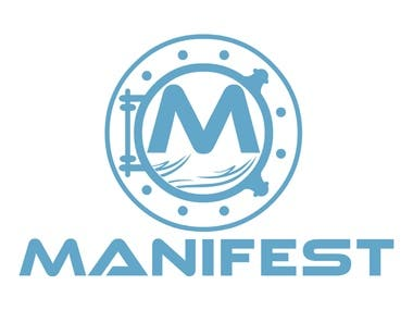 MANIFEST logo design